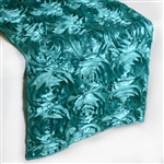 Grandiose Rosette Table Runners – Turquoise