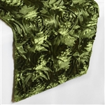Grandiose Rosette Table Runners – Willow Green