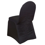 Milan Banquet Chair Covers - Black