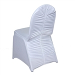 Milan Banquet Chair Covers - White