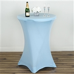 Cocktail Spandex Table Cover - Serenity