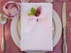 "Cotton Napkins -20x20"" - White 5/pk"
