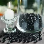 Mini Acrylic Ice Bead Vase Fillers Table Decoration - 400 Pack - Black