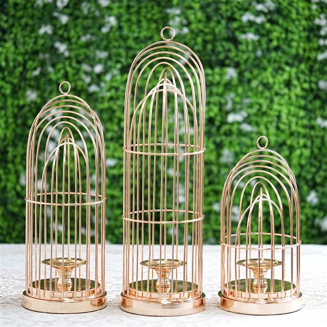 best 25 brd cage decoraton deas on pnterest.htm gold metal cage pillar candle holder available in 3 sizes  gold metal cage pillar candle holder