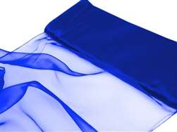 "Chiffon Fabric Bolt 54"" x 10Yards - Royal Blue"