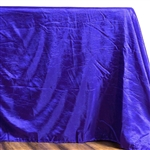 Purple Crinkle Taffeta Tablecloth 90x132""
