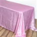 Pink Crinkle Taffeta Tablecloth 90x156""