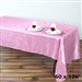 Pink Crinkle Taffeta Tablecloth 60x126""