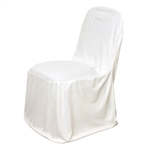 Stretch Scuba Chair Covers - Ivory