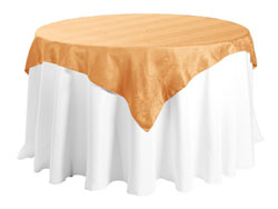 "45"" X 45"" Square Premium Snake Skin Damask Tablecloths"