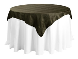 "84"" X 84"" Square Premium Snake Skin Damask Tablecloths"