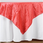 "60"" Overlay (Crinkle) - Coral"