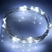 7.5 FT 20 LED White String Light Lamp Fairy Home Outdoor Wedding Party
