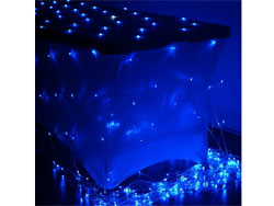 20ft x 10ft Gleaming LED Lights for Backdrops - Blue