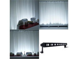 27 Watt White Super Bright 9 LED Wall Washer Backdrop Lighting Spotlight Fixture Bar