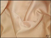 "54"" Overlay Matte Satin / Lamour Table Cloths - Cafe"