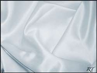 "60""X120"" Rectangular Matte Satin/Lamour Table Cloths - Ice Blue"