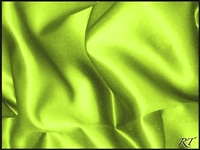 "72""x72"" Overlay Matte Satin / Lamour Table Cloths - Apple Green"