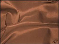 "72"" Overlay Matte Satin / Lamour Table Cloths - Copper"