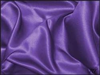 "8""x110"" Matte Satin / Lamour Chair Sash - Plum (8 Pack)"