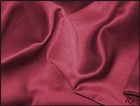 "84"" Overlay Matte Satin / Lamour Table Cloths - Burgundy"