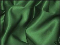 "84"" Overlay Matte Satin / Lamour Table Cloths - Hunter"