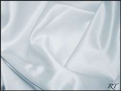"84"" Overlay Matte Satin / Lamour Table Cloths - Ice Blue"