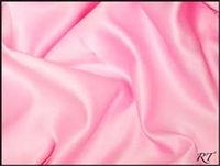 "84"" Overlay Matte Satin / Lamour Table Cloths - Peppermint Pink"