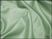 "84"" Overlay Matte Satin / Lamour Table Cloths - Sage"