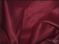 "90""X132"" Rectangular Matte Satin / Lamour Table Cloths - Magenta"