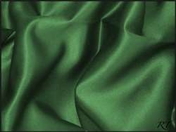 "90""X156"" Rectangular Matte Satin / Lamour Table Cloths - Hunter"
