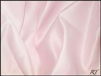 "90""X156"" Rectangular Matte Satin / Lamour Table Cloths - Ice Pink"
