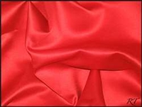 "90""X156"" Rectangular Matte Satin / Lamour Table Cloths - Red"