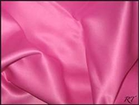 "90""X156"" Rectangular Matte Satin / Lamour Table Cloths - Rose"
