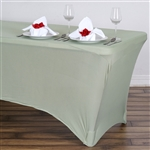 6 Ft Rectangular Spandex Table Cover - Reseda