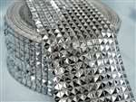 "Diamond Roll  4.5""x10yards/roll Silver"