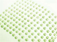 ENDLESS PEARLS: Stick On-Pearls - Apple Green 1056pcs