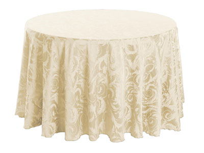 "72"" Round Melrose Tablecloth"