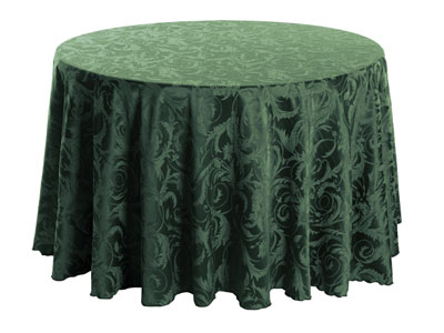 "90"" Round Melrose Tablecloth"