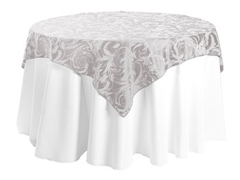 "54"" x 54"" Square Premium Melrose Tablecloth"