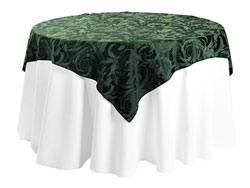 "60"" x 60"" Square Premium Melrose Tablecloth"