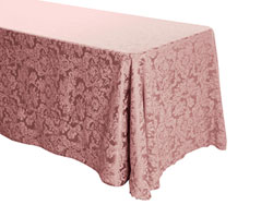 "90"" x 108"" Rectangular Premium Miranda Tablecloth"