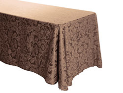 "90"" x 156"" Rectangular Premium Miranda Tablecloth"