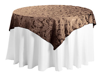 "72"" x 72"" Square Premium Miranda Tablecloth"