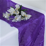 Paradise Forest Taffeta Table Runners – Purple