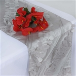 Paradise Forest Taffeta Table Runners – Silver