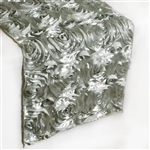 Grandiose Rosette Table Runners – Silver