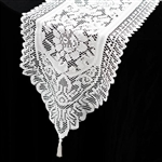 Elegant Lace Runner (Jolly Good) - White