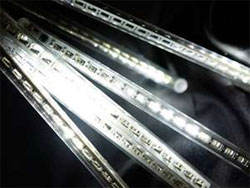 "192"" Meteor Rain Lights  Sequential  - LED White"