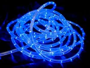 33FT Tube Lights Rabbit Hole  - Blue LED